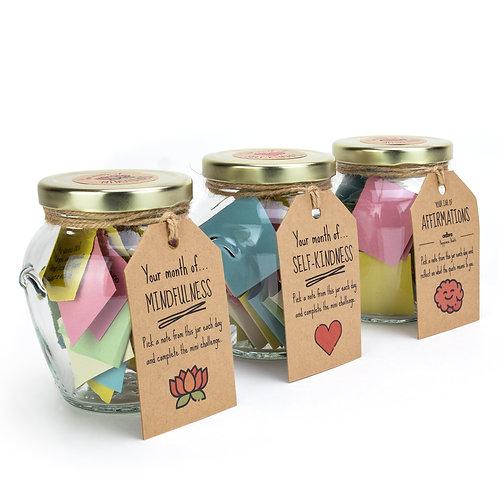 Set of 3 Happiness Jars