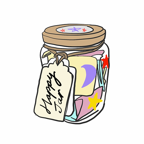 Happiness Jar Kit | Create your own