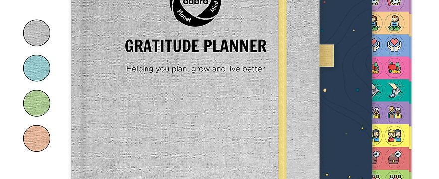 Gratitude Planner | Well-being journal