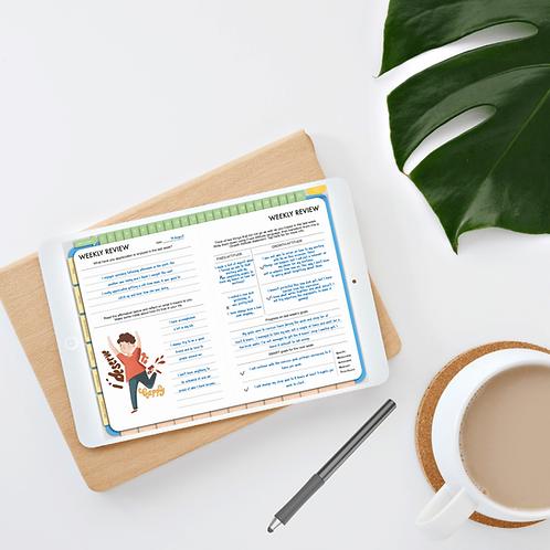 Gratitude Planner (digital - requires a stylus) | Well-being Journal