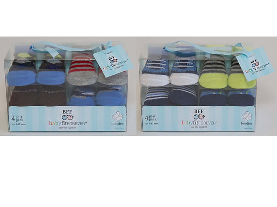 2 Box Sets of Infant Boy Socks - 20% OFF