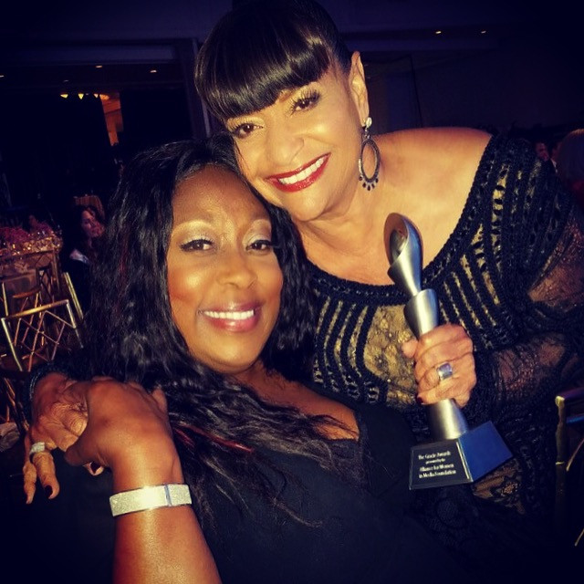 Loni Love & 2017 Lifetime Achievement Gracie Award Honoree, choreogrpaher, actress and producer Debbie Allen