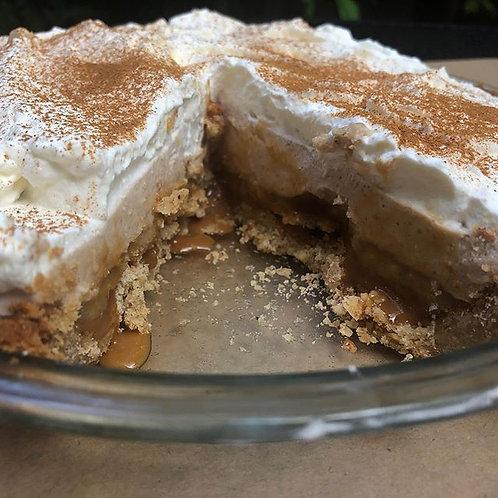 Dulce de Leche Banana Cream Pie (Seasonal)