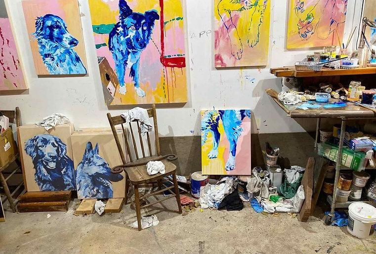 Canadian-Artist-Andrew-Scott-Art-Studio-