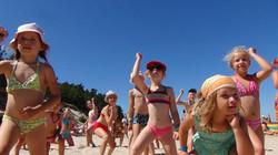 wicie zabawy na plaży