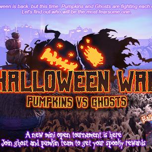 Oct 15th - Halloween War