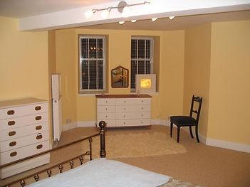 Garden Flat bedroom bay window