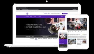 Microsoft Minisite
