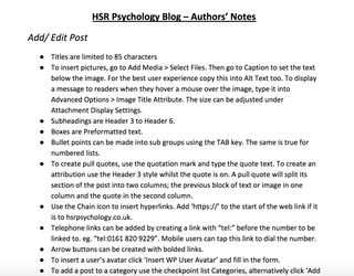 Authors' Notes