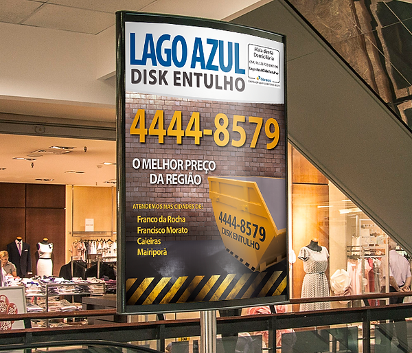 Lago Azul Disk Entulho