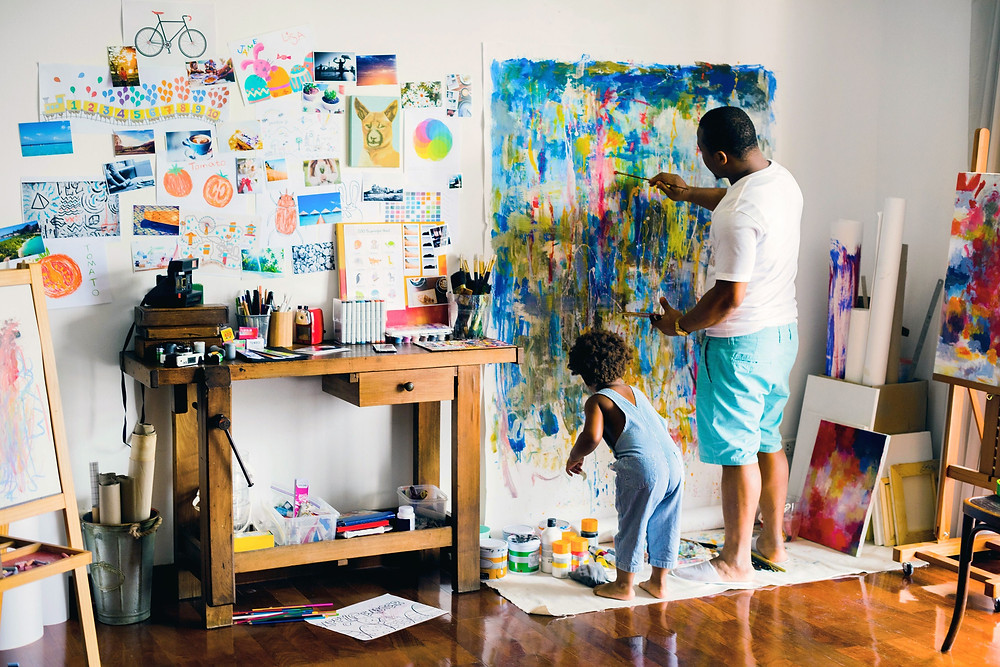 Vision Board that sets out Financial Goals