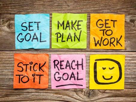 Set achievable goals for 2020