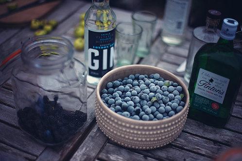 Sloe Gin Making