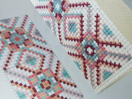 Free Cross Stitch Bookmark Pattern!
