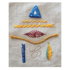 Embroidery Sampler C