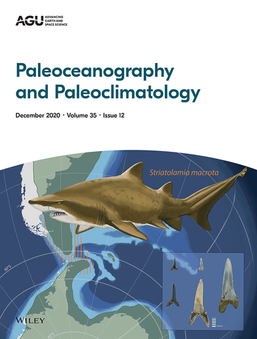 Paleoceanography and Paleoclimatology December Cover