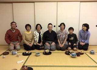 「気楽に茶の湯」教室(釜利谷地区センター)