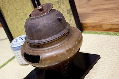 横浜茶道教室 壺月遠州流禪茶道宗家 茶道用の釜