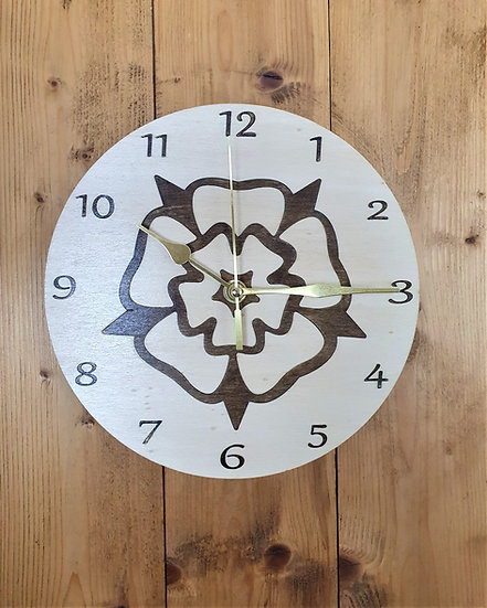 The Yorkshire Rose Clock
