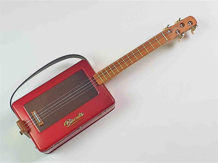 Vintage Radio Tin Tenor Ukulele