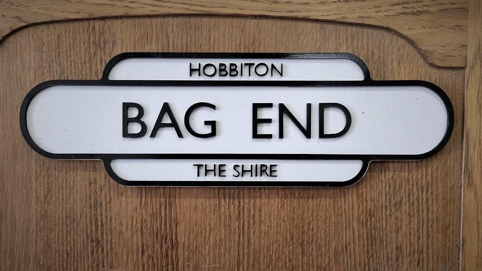 Bag End Sign