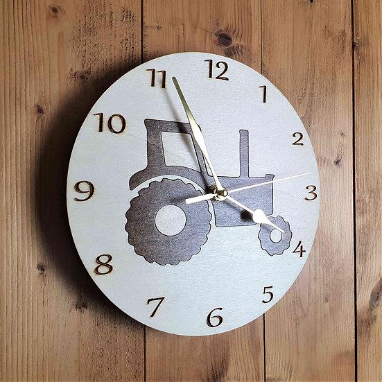 Tractor Clock