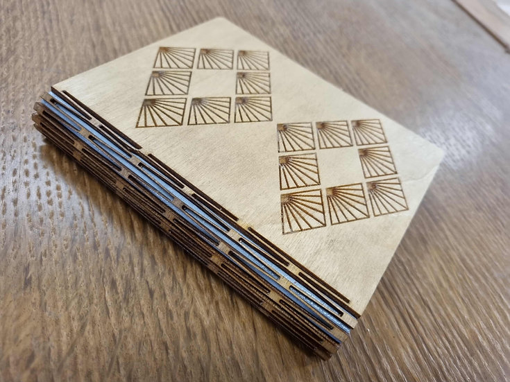 Art Deco Note Book