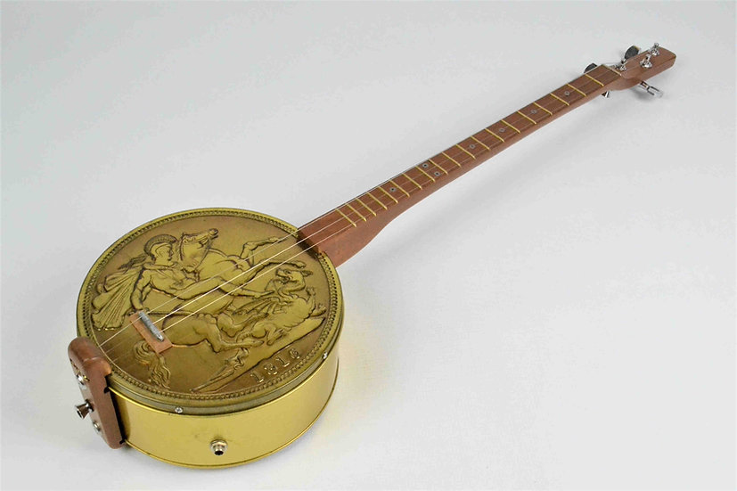 Gold Sovereign Guitar
