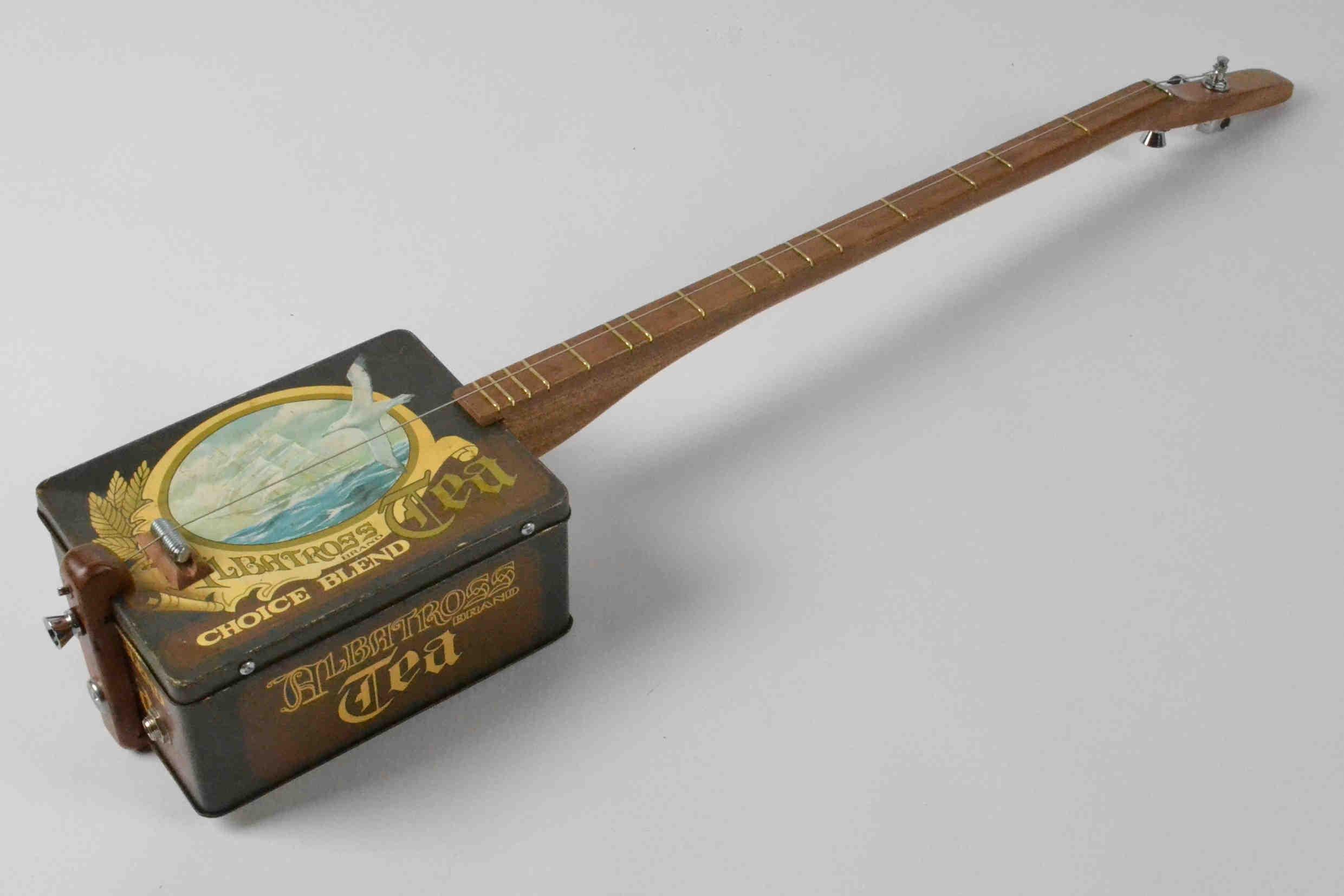 Vintage Tin Canjo