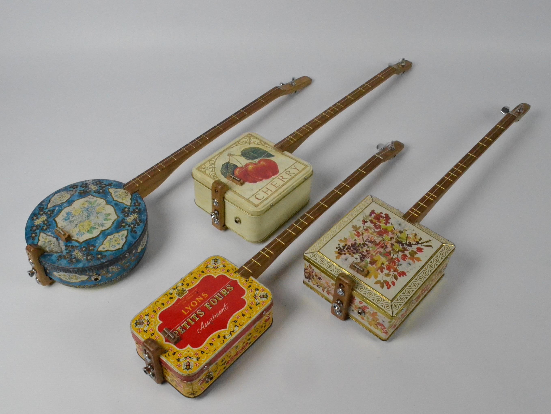 Vintage Tin Electro Canjos