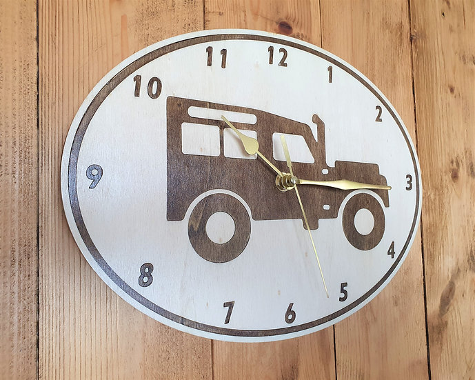 Land Rover Defender Wall Clock