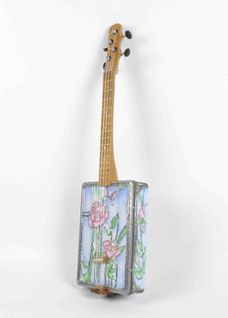 Beautiful Flower Tin Ukulele