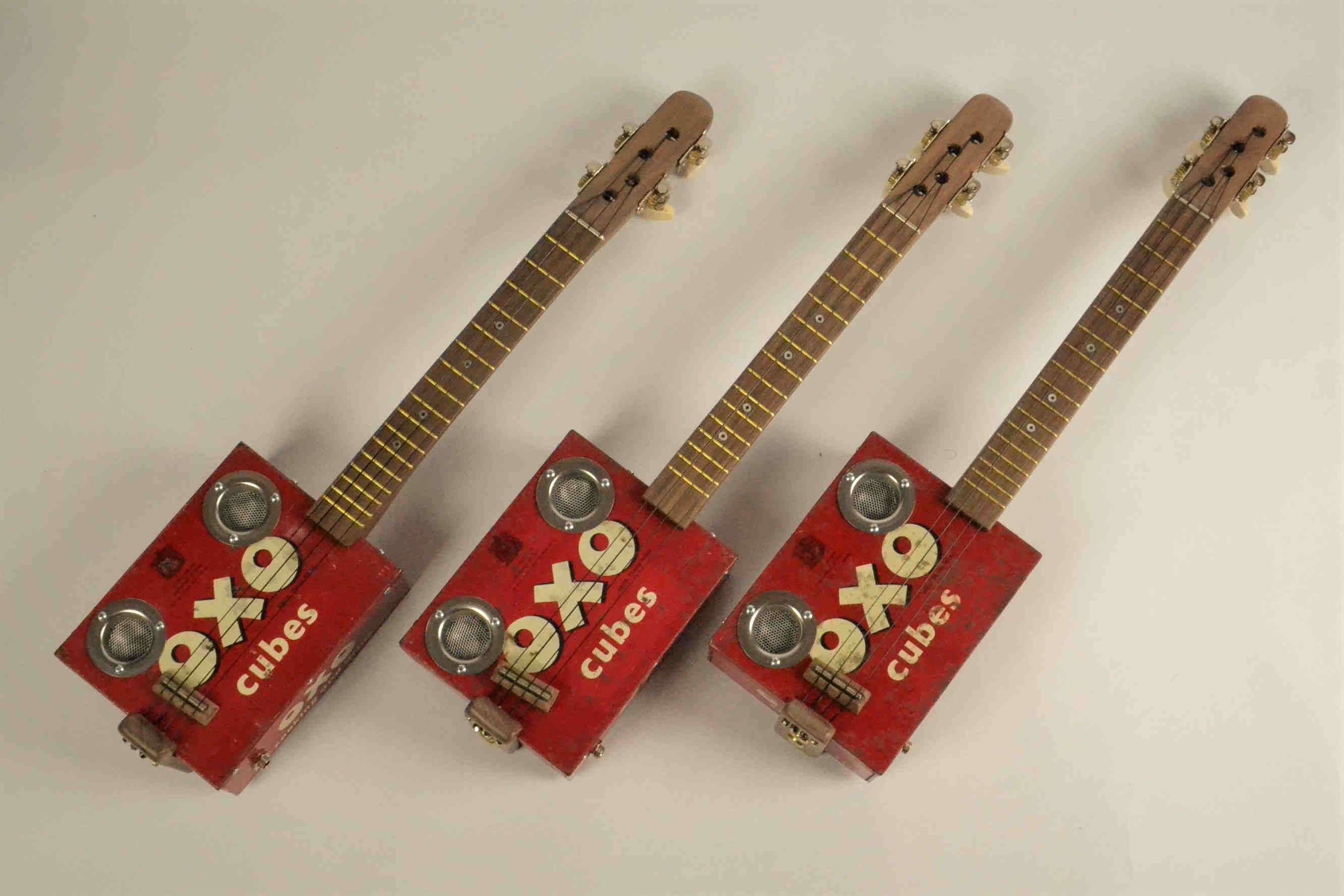 The Oxolele Tin Ukulele