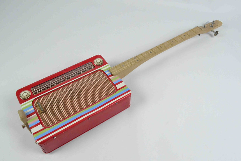 Retro Radio Tin Guitar