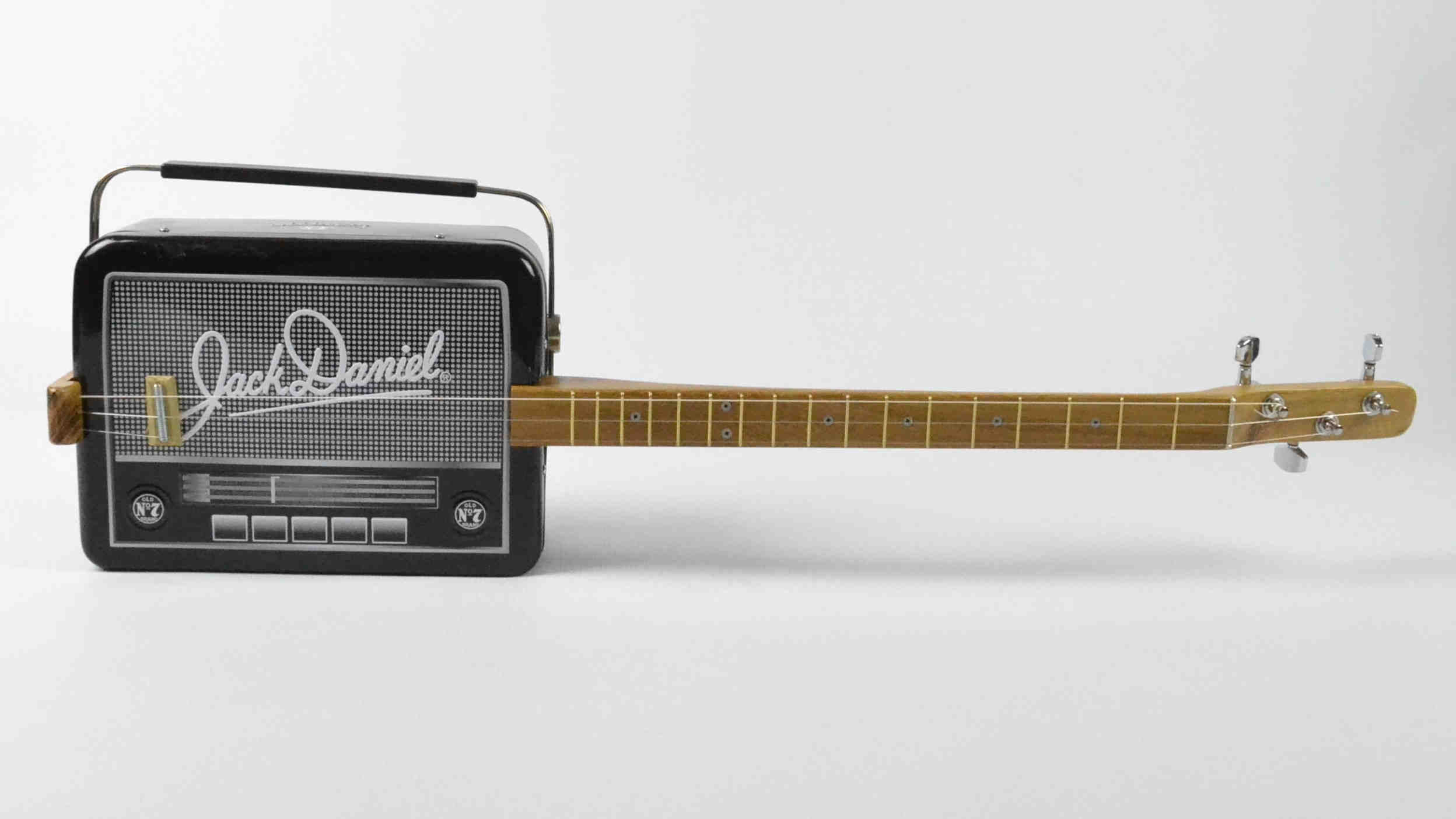 The Jack Danials Radio Tin Guitar