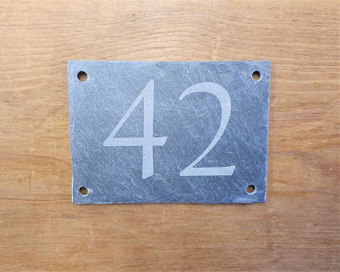 Slate Number