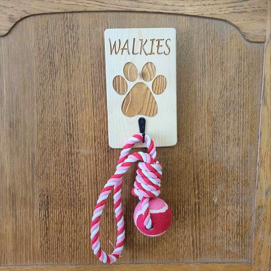 Wooden Dog Lead Hook
