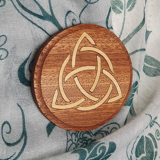 Celtic Knot Brooch