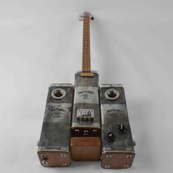 Jack Daniels Steam Punk Tin Guitar