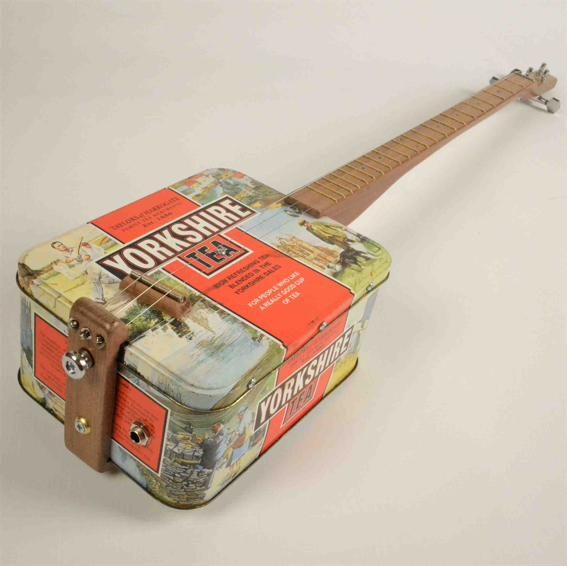 Classic Yorkshire Tea Guitar