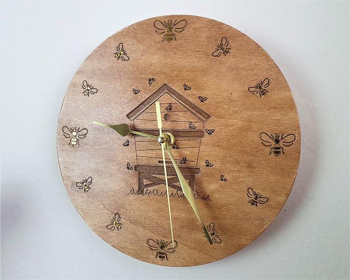 Bee Hive Clock