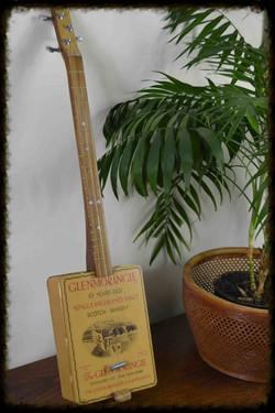 Glen Morangie Whisky Tin Guitar