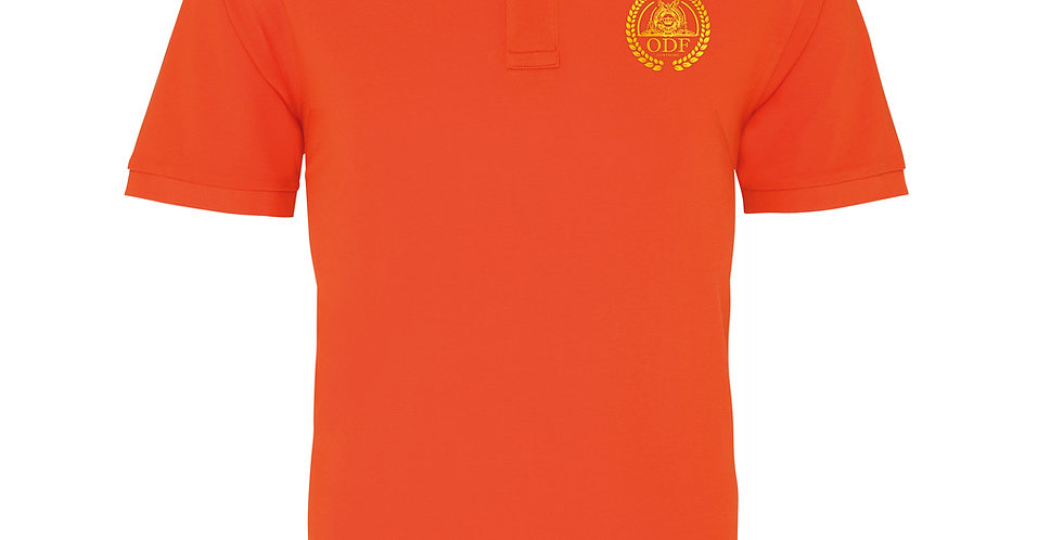 BURNT ORANGE POLO