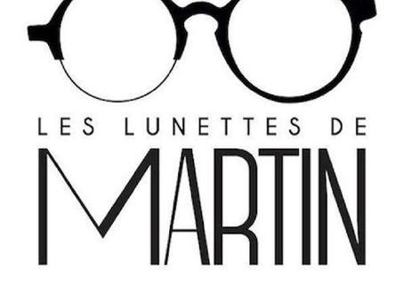 Nos clients témoignent. Aujourd'hui la boutique Les Lunettes de Martin partage son expérience !
