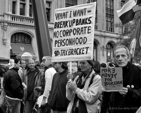 Protesting the 99%
