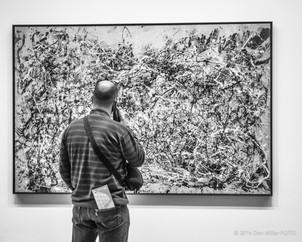 Visitor at MoMA
