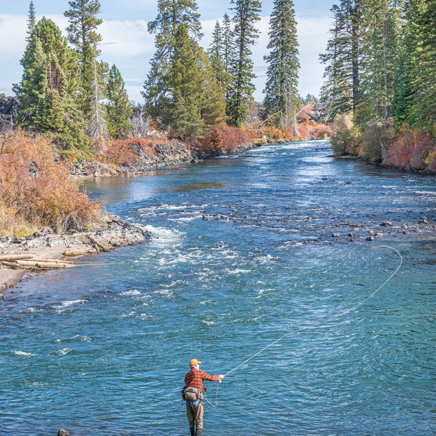 Fly Fishing the Deschutes