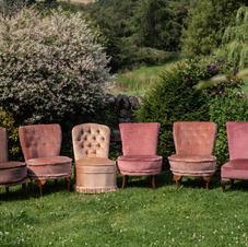 Vintage Boudoir Chair Bundle x 6