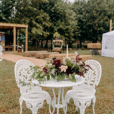 Vintage - Boho White Tables