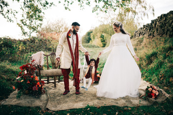 Fusion Culture Wedding Styled Shoot with real family